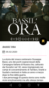 Pagina dettagliata di un film